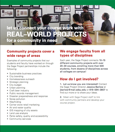 FAQs for Faculty | The Sage Project | SDSU